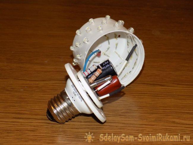 LED светильники своими руками
