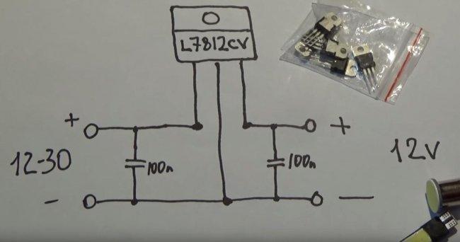 Стабилизатор для светодиодов и ДХО