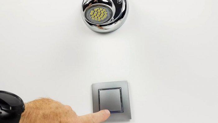 Как устранить свечение выключенной светодиодной лампы