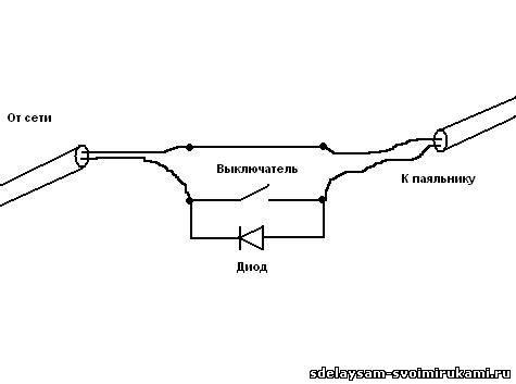 Схема регулятора температуры для паяльника: как собрать