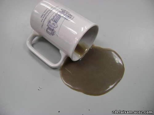 К чему проливается кофе на пол, на стол, на себя: толкование