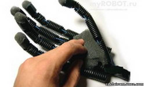 Как сделать руку робота для