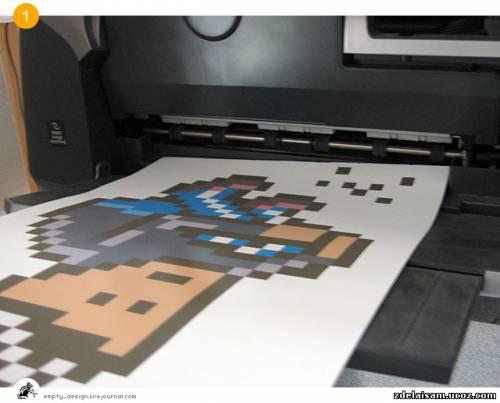 Утюг + принтер = Эксклюзивная футболка!