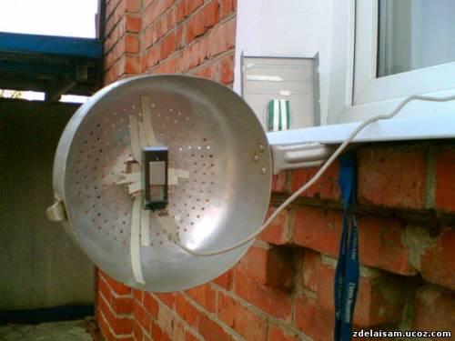 Как в домашних условиях усилить тв сигнал