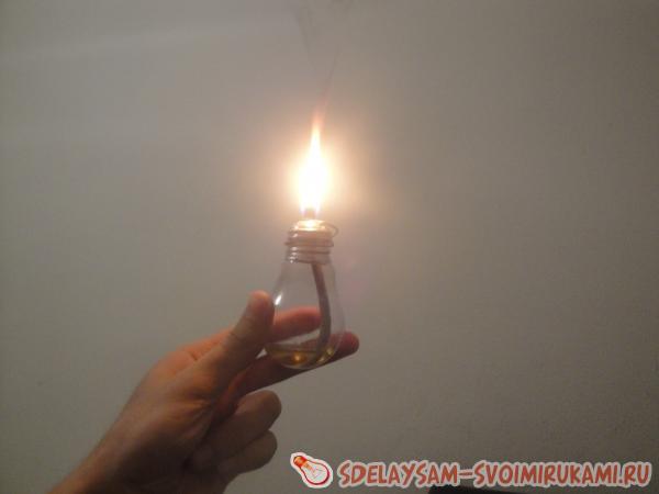 Масляный светильник