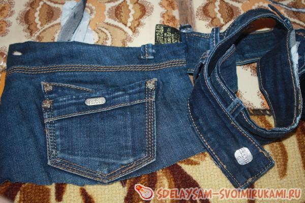 Новая жизнь старых джинс