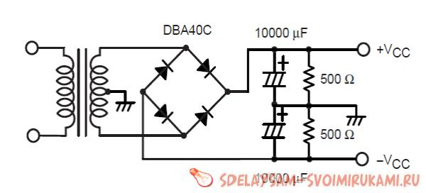 Amplifier on STK402-020 ... STK402-120