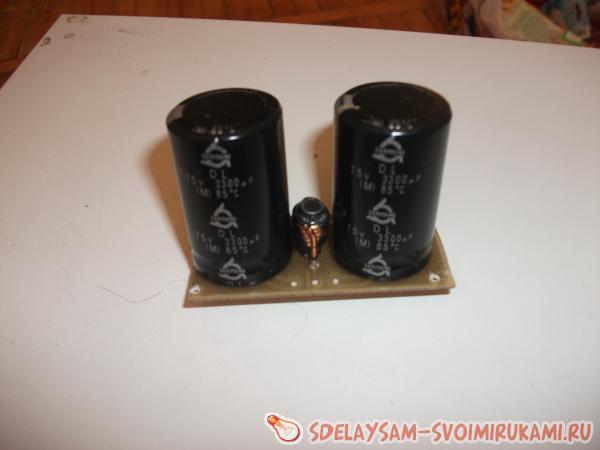 Усилитель на STK402-020…STK402-120