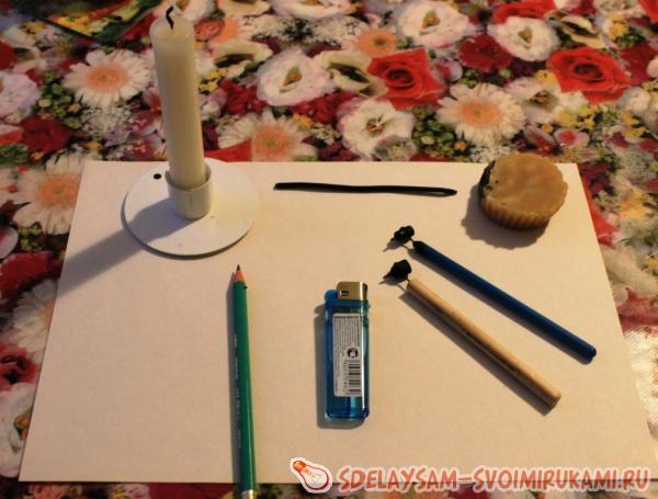 "Painting in technique ""pysanka"""