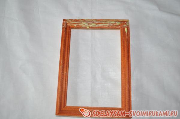 Декор «золотой» рамки