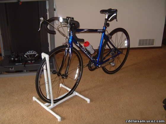 Как сделать подставку для велосипедов 86