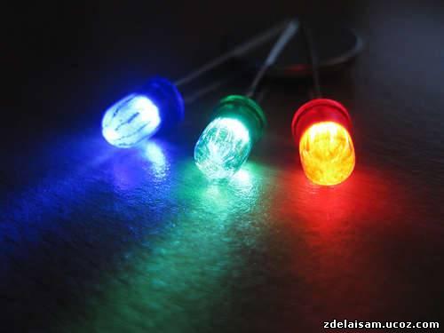 Как сделать цветной свет фото 371