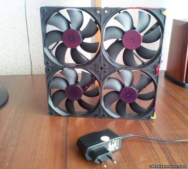 Как сделать чтобы вентиляторы работали тише 652
