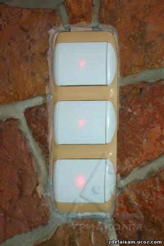 Выключатель с подсветкой – схемы на светодиоде и неоновой