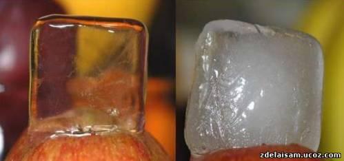 Как сделать лед своими руками