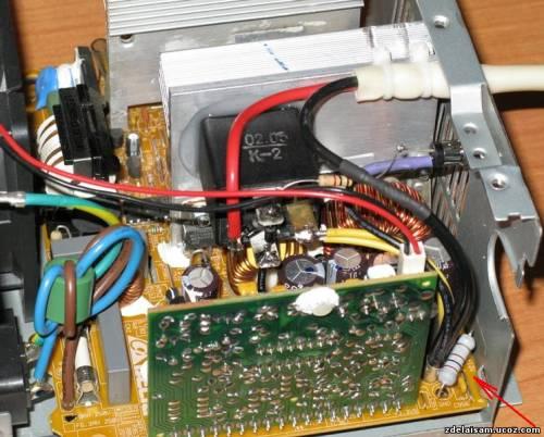 Зарядное устройство для автомобильного аккумулятора из блока питания компьютера.