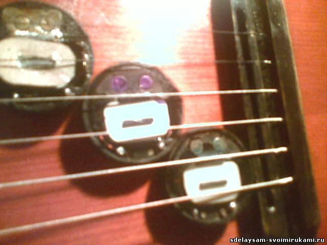 Как сделать звукосниматель на акустическую гитару