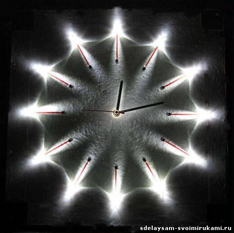 Часы - ночник