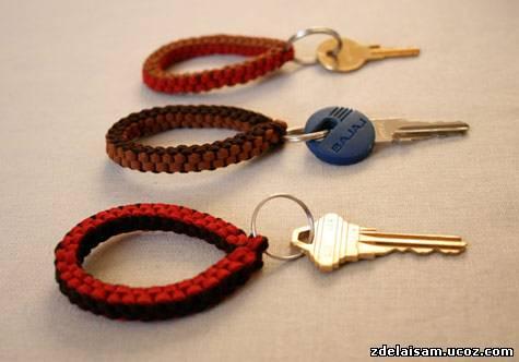 Брелки на ключи своими руками