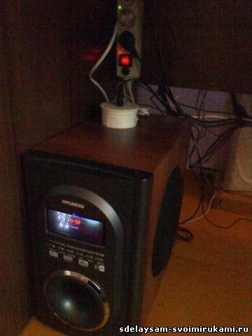 источник http://www.sdelaysam-svoimirukami.ru.  Не забывайте 220 вольт ОПАСНО для жизни!