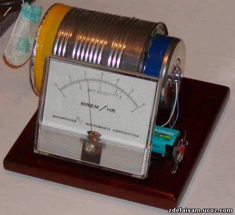 Простой детектор радиации