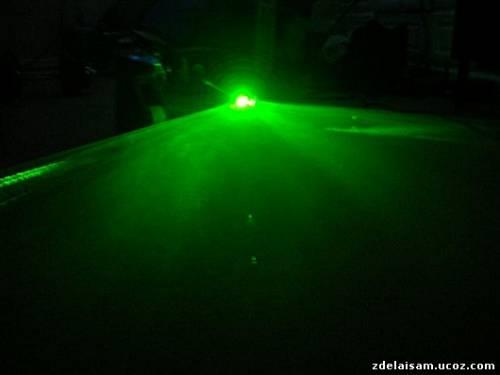 Лазерная установка с эффектом