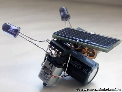 Сначала солнечная батарея