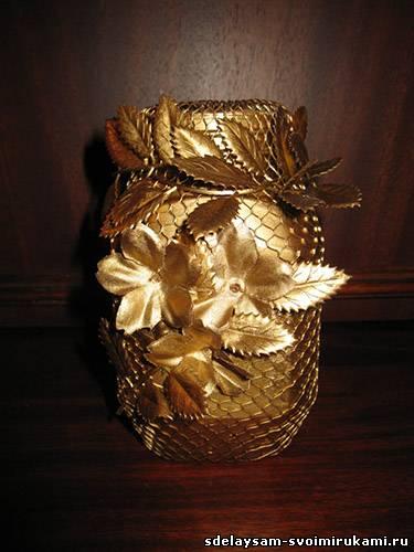 Изящная стильная вазочка