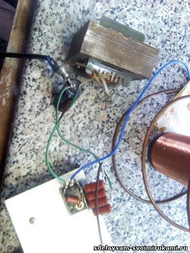Катушка тесла на 220 вольт своими руками 86