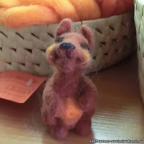Валяные игрушки ручной работы – купить в интернет магазине