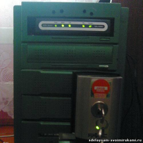 Встраиваем DSL модем в системный блок ПК