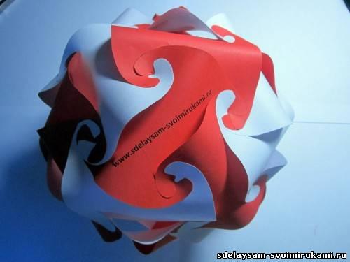 Бумажный шар