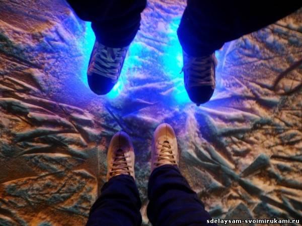 Подсветка коньков в домашних условиях