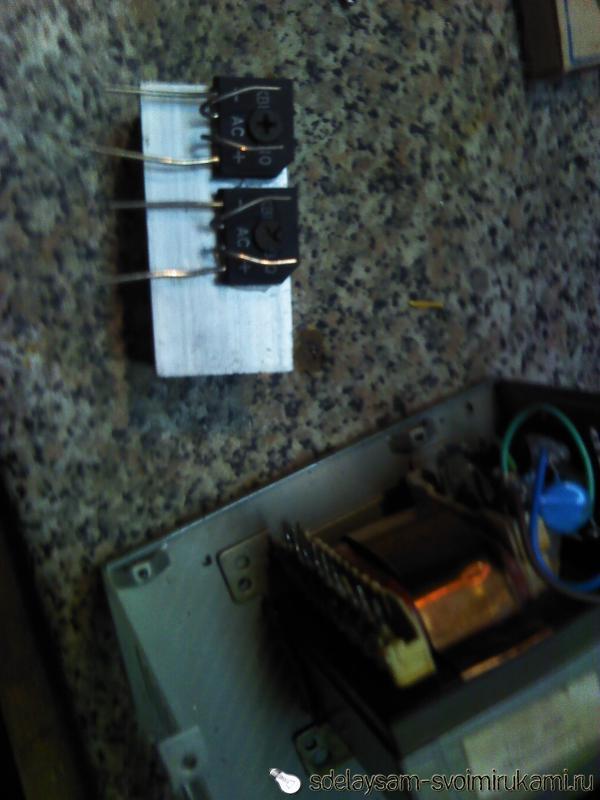 Amplifier 4x22 W
