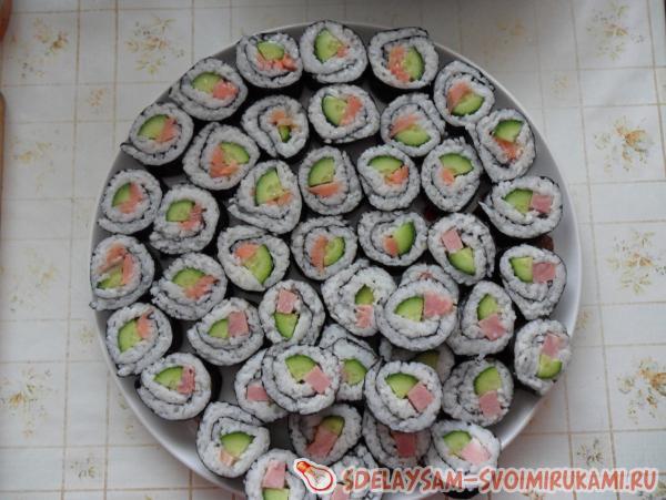 Суши в домашних условиях