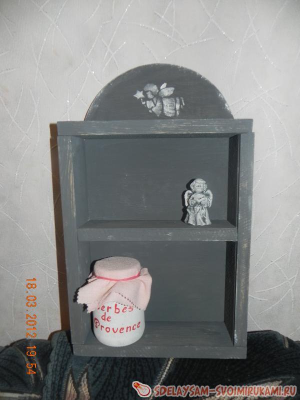 Shelf in Provencal style
