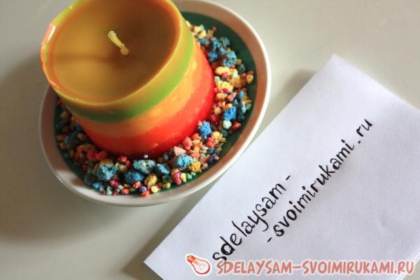 Декоративные и ароматизированные свечи