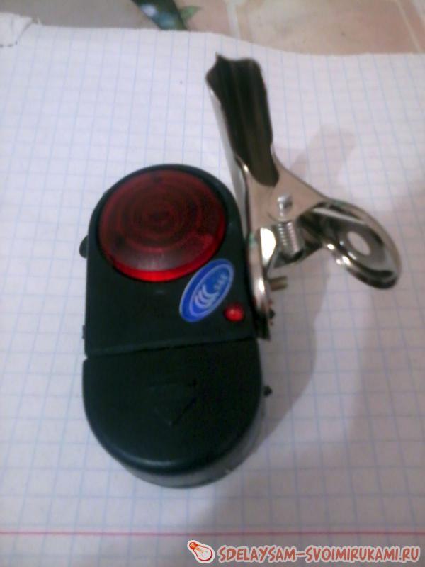 Дверной звонок из сигнализатора поклевки