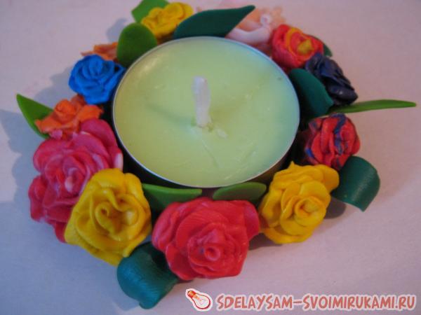 Оригинальная свеча своими руками / Домоседы