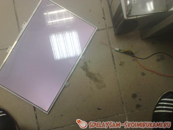 Инвертор для ЛДС из сломанного ноутбука