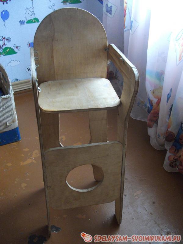 Детская мебель – стульчик для кормления