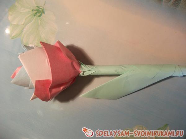 Цветок из записок