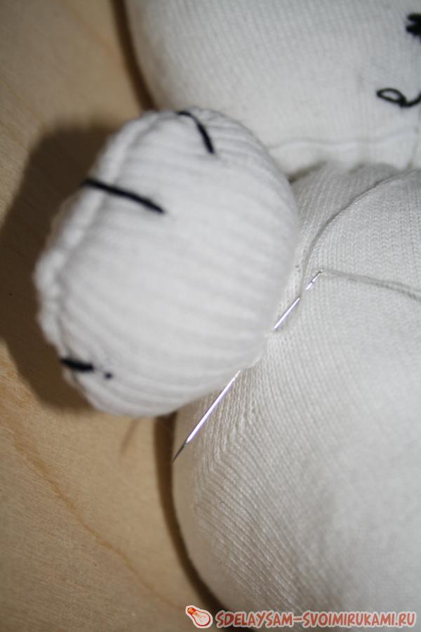 Как сшить мягкую игрушку из носка