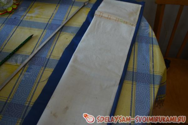 Чехол для шампуров своими руками