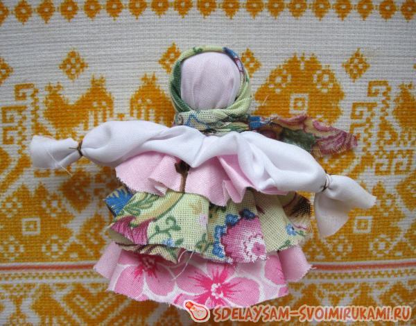 Тряпичная кукла Мотанка