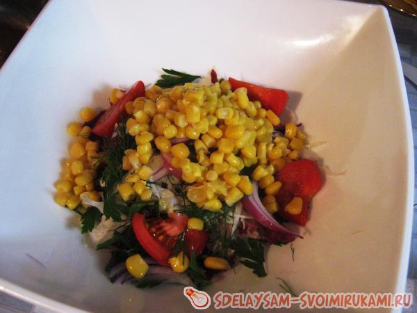 Салат, помогающий выдерживать диеты