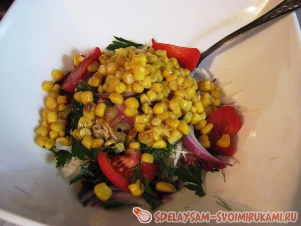Salad, helping to withstand diets