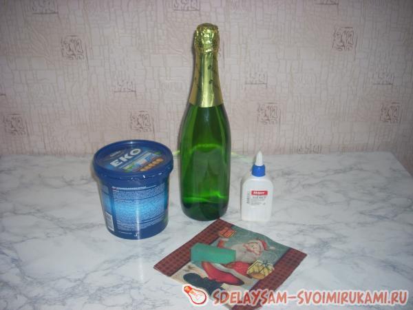 Новогоднее шампанское своими руками мастер класс фото 856