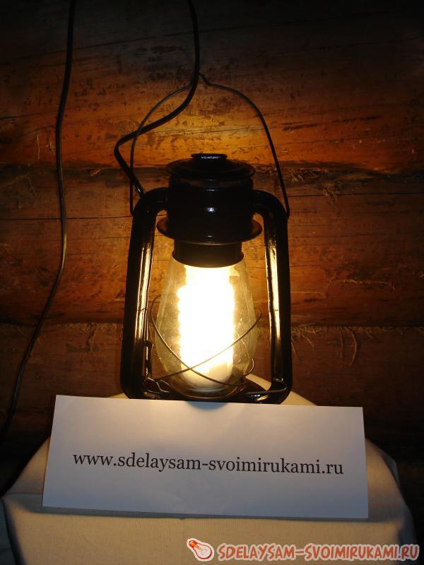 Апгрейд керосинового фонарика