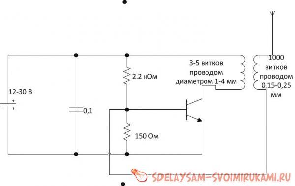 В домашних условиях трансформатор тесл 11